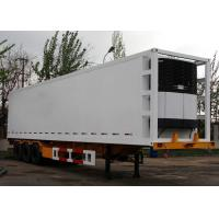 Wholesale 45 Foot GRP Sandwich Refrigerated Truck Trailer For Freezing And Fresh Cargos from china suppliers