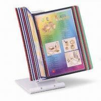 Wholesale Desk Top Display Stand with Ten Pannels and Height Adjustable from china suppliers