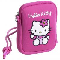 Wholesale 12x 9cm Pink HELLO KITTY Neoprene Soft Camera cover Case bag With Wrist Strap from china suppliers