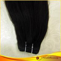 Wholesale Shiny No shedding Natural Color Remy Human Hair Extensions Weft from china suppliers