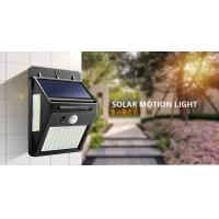 China ON / OFF Automatically Solar Motion Sensor Light Easy Installation For Home on sale