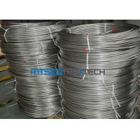 Quality EN10216 - 5 Seamless Coiled Stainless Tube Bright Annealed / Pickled Surface for sale