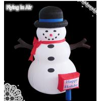 Outdoor christmas inflatable snowman for christmas for 36 countdown to christmas snowman yard decoration