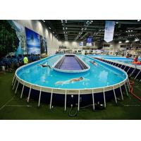 Funny Above Ground Metal Framed Swimming Pools 10ft Steel Frame Swimming Pool Of Item 102343425
