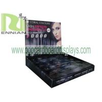 China Cosmetic Cardboard Counter Displays FSDU For Eye Wear Cardboard Floor Display ENCD075 wholesale