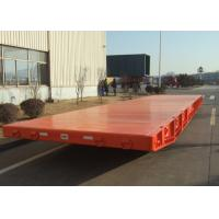 Wholesale Large Capacity 40 Foot Flatbed Mafi Roller Trailer For Roll Roll Shipment from china suppliers