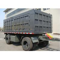 Wholesale 30ft Roof Opened 2 Axles Drawbar Box Full Trailer For Bulk Cargos Mine Material from china suppliers