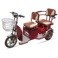 Wholesale 48V20A 350W Powered Electric Tricycles For Adults , 2 Seat Electric  Tricycle from china suppliers