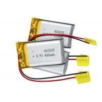Wholesale 602035 Lithium Polymer Battery Pack 3.7V 400mah For Blue Tooth Headset from china suppliers