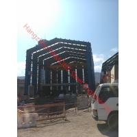 H Column Metal Frame Type Prefabricated Steel Building For Industrial Use