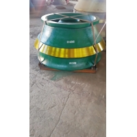 Wholesale Mantle Concave Bowl Liners  Sandivik Cone Crusher Parts from china suppliers