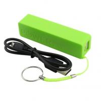 Wholesale Portable Key Ring Cell Phone Charging Station Green 2600mAh USB Port For iPhone4 from china suppliers