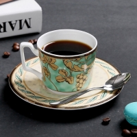 Wholesale LFGB 6.4x8cm Sustainable Personalised Fine Bone China Teacup Sets from china suppliers