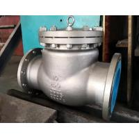 Wholesale bs1868 stainless steel swing check valve,2205 material,10inch,RF flanged to class 150lb from china suppliers