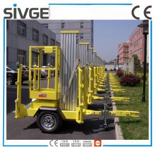 630 * 650mm Platform Mobile Elevating Work Platform 8 Meter For Auto Stations