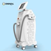 Quality 600w Micro Channel Diode Laser Hair Removal Machine For Face for sale