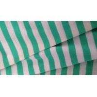 Wholesale Double Striped Jersey Knit Fabric For Tracksuit / Hoodie With Embossed Logo from china suppliers