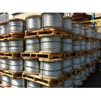 China Low Relaxation Zinc Coated Steel Cable Wire Rope For Packing Garages on sale