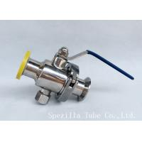 Wholesale DN25 TP316L THREADED BALL VALVE BPE VALVES SANITARY FITTINGS POLSIHED from china suppliers