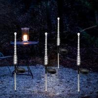 Wholesale Outdoor Solar Powered Garden Stake Lights Yard Lawn Path Light 25LED Landscape Solar Meteor Shower Light from china suppliers