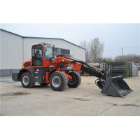 Wholesale WY2500 farm machinery telescopic extended wheel loader with 4 in 1 bucket from china suppliers