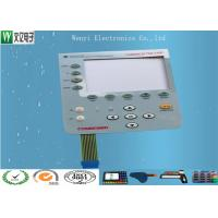 Wholesale Food Grade Conductive Rubber Keypad Combined With PC Overlay Membrane Switch from china suppliers