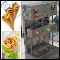 Wholesale pizza cone shape machine/pizza cone making machine from china suppliers
