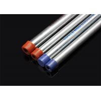 Wholesale BS 4568 / BS 31 Hot Dip Galvanized Conduit Pipe With Screwed Ends And Caps from china suppliers