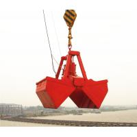 Wholesale ISO Standard 25T 6 - 12m³ Electro Hydraulic Clamshell Grab  for Bulk Carrier Ship Crane from china suppliers