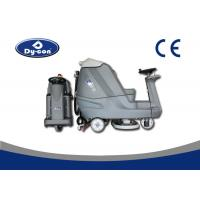 Wholesale Blue Color Reconditioned Ride On Floor Scrubbers Machine , Wet Floor Cleaning Machines from china suppliers