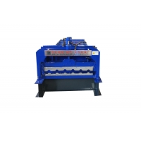 China Metal Roofing Step Glazed Tile Roll Forming Machine on sale