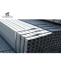 Wholesale Fence Post Hollow Rectangular Section Thick Zinc Coating Pipe For Building Construction from china suppliers