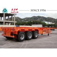 Wholesale 40 FT 3 Axles Skeleton Trailer High Durability For Container Transport from china suppliers