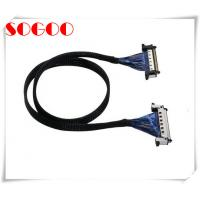 Wholesale Customized Lvds Display Cable JAE 41Pin 51Pin / Micro Coaxial Lvds Cable Assembly from china suppliers