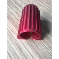 Wholesale Red Colour Anodized Aluminum Extrusions Motor Housing With Tapping And Drilling from china suppliers