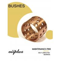 Wholesale FB090 & 092 Tin Bronze Slide Bearing Oilless Bronze Bushing with Holes Tolerance Shaft – Bearing from china suppliers