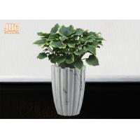 Wholesale Marbling Clay Flower Pots Fiberclay Plant Pots Large Pot Planters Clay Floor Vases from china suppliers