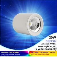 Wholesale 5000K 20W CREE COB LED downlight NEW lighting fixture is ceiling mounted warranty 5 years from china suppliers