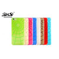 Buy cheap Shock-resistant Apple iPhone Protective Cases Spider Net Pattern TPU Cases from wholesalers