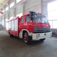 Wholesale Red 140KW 5000L Dongfeng 4*2 Fire Fighting Truck from china suppliers