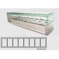 Wholesale Static Cooling Refrigerated Display Units For Restaurant , 65L from china suppliers