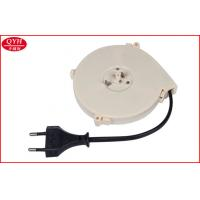 Wholesale European Power extension cord retractable Cable reel For Vacuum Cleaner / Cooker from china suppliers