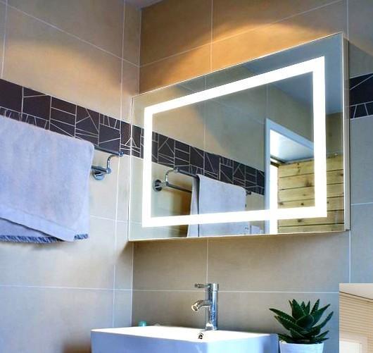 Modern Fashion Square Bathroom Mirror Of Item 105819505