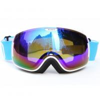 Wholesale Custom Adult Sport Blue Polarized Snow Goggles For Mountaineering Protective Eyewear from china suppliers