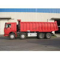 Wholesale 8 X 4 HOWO Sinotruk Heavy Duty Dump Truck With 6800x2300x1500 Box Size from china suppliers