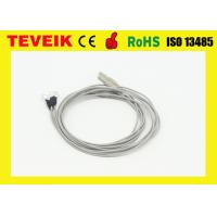 China Custom Electrode Nickle Plated Copper EEG Cable For Portable EEG Machine wholesale