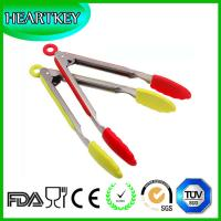 Wholesale Kitchen Tongs Set by Black Mountain Kitchen Products - Salad & Grill (BBQ) Stainless Steel Tongs with Silicone Tips from china suppliers