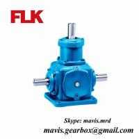 Electric Motor Reduction Gearbox Bevel Gear Speed Reducer
