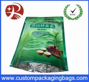 China OEM RDY PE Laminated food grade plastic bags Custom Printed 3 side sealed on sale