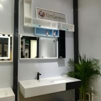 Wholesale Commercial Bathroom Sink Cabinets High Strength Weather Resistant from china suppliers